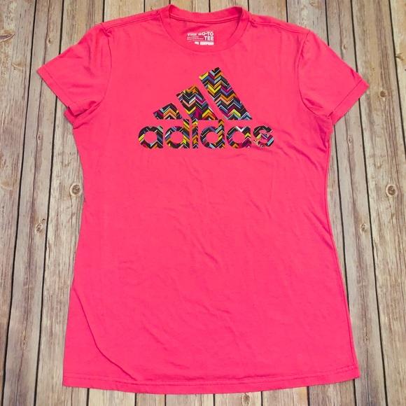 adidas Tops - Adidas Go to Tee Womens pink T-shirt Sz M